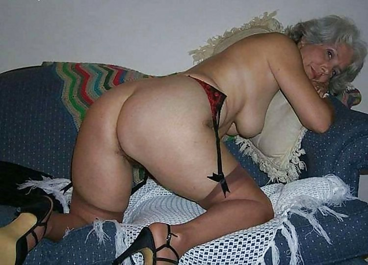 Sexy old ladies in stockings