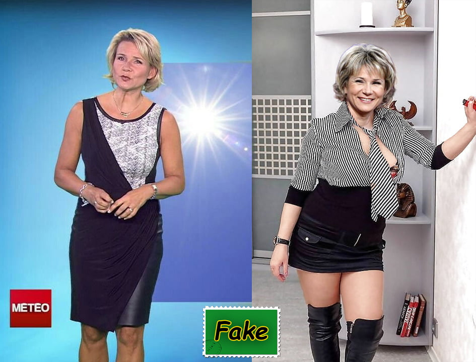 French tv celibrity fakes - 32 Pics