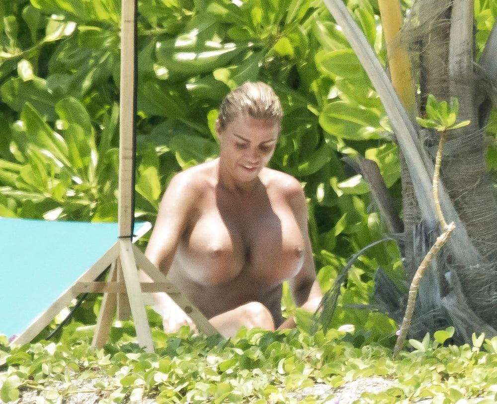 Topless katie price Katie Price's
