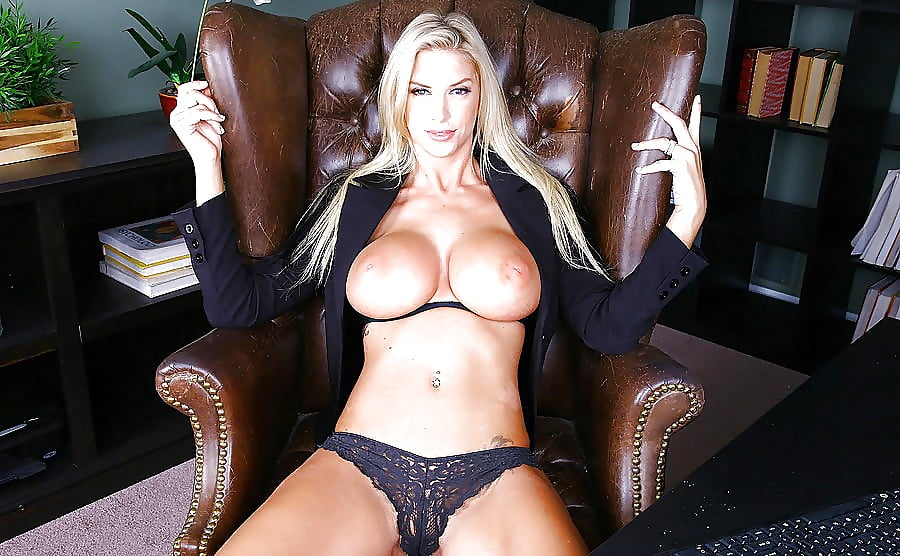 Big tits boss rebecca petite