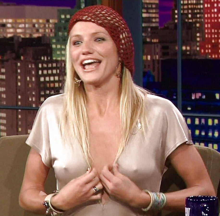 Nipple cameron diaz Famous Celebrities
