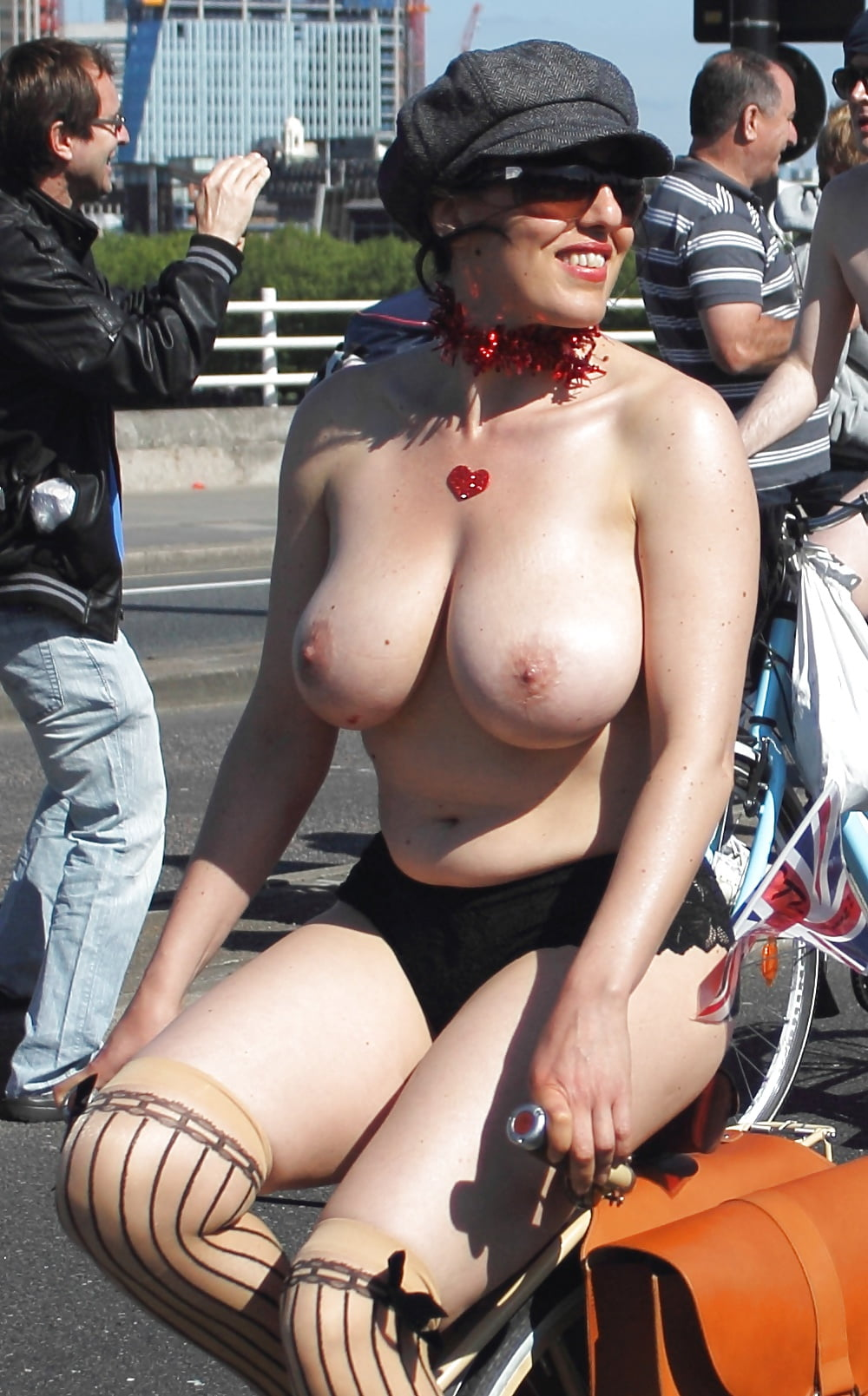 Bike Riding Busty Milfs - 69 Pics  Xhamster