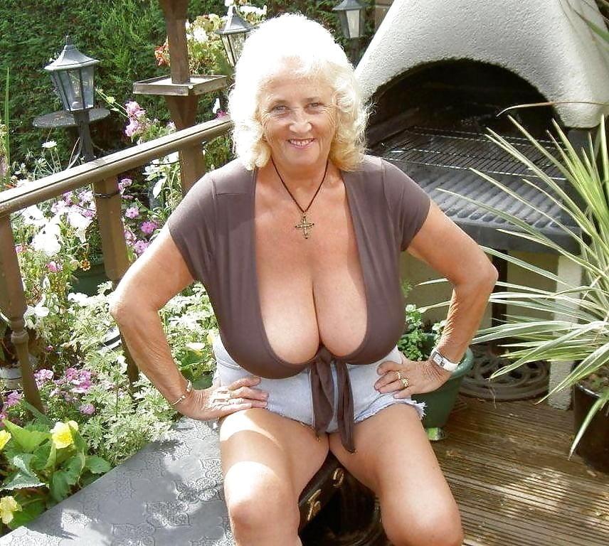Busty Naked Grandma