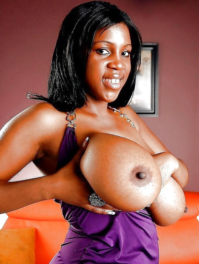 Big black girl big tits