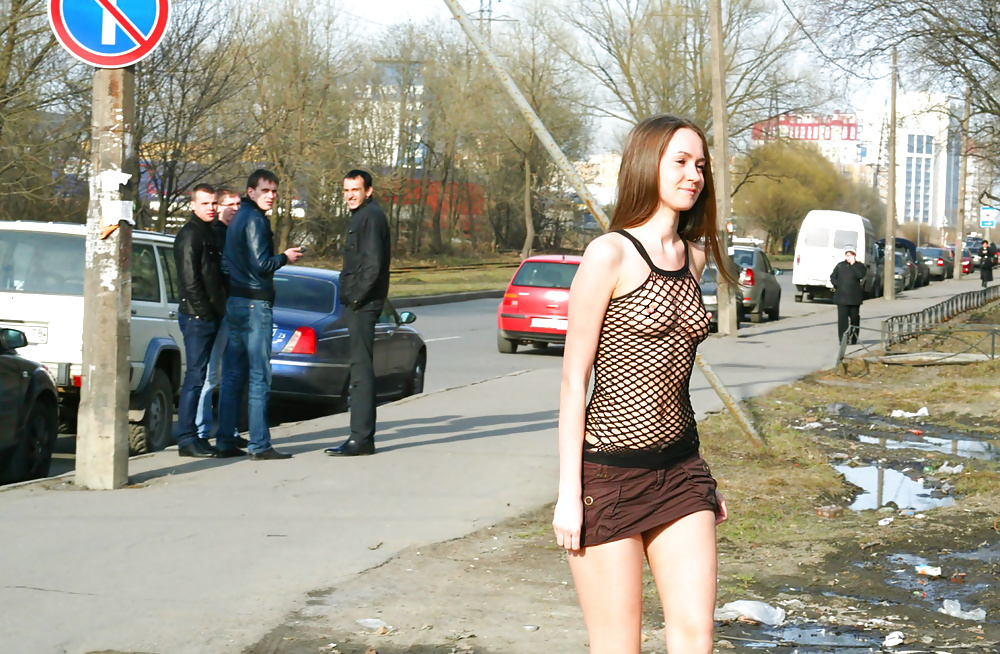 проститутку на улице ничего, него