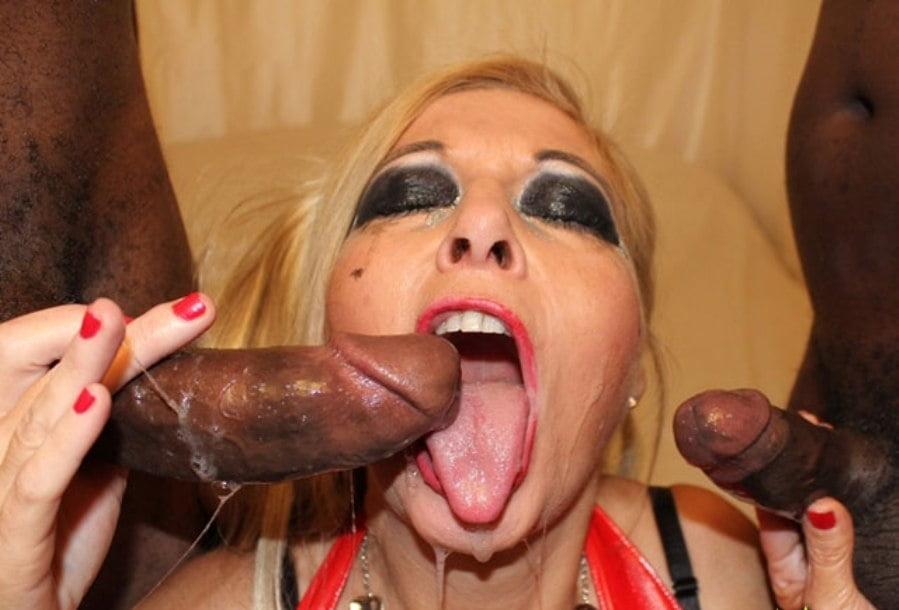 Wife interracial cum swallow