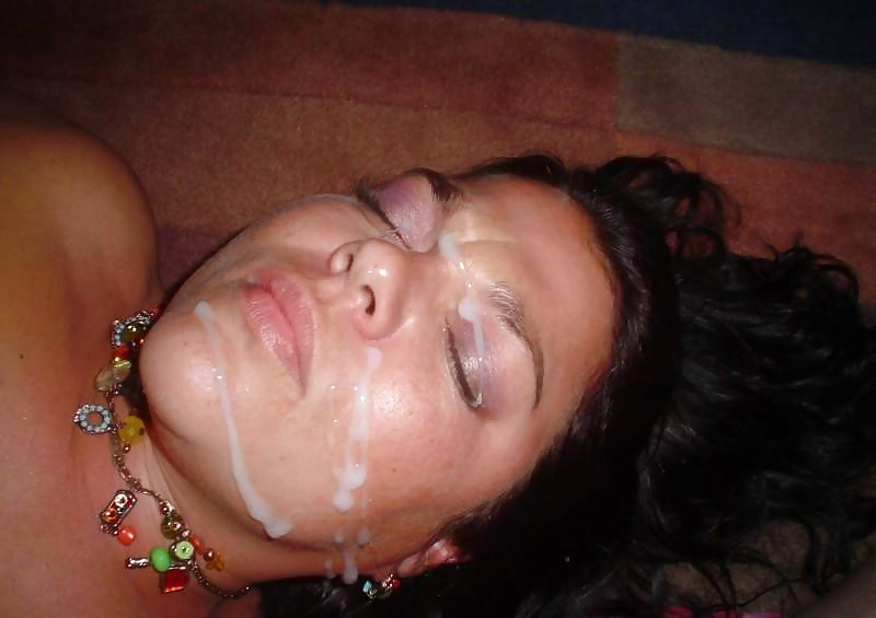 Sleeping naked girl with cum on her face, xxx picture from israeli girls