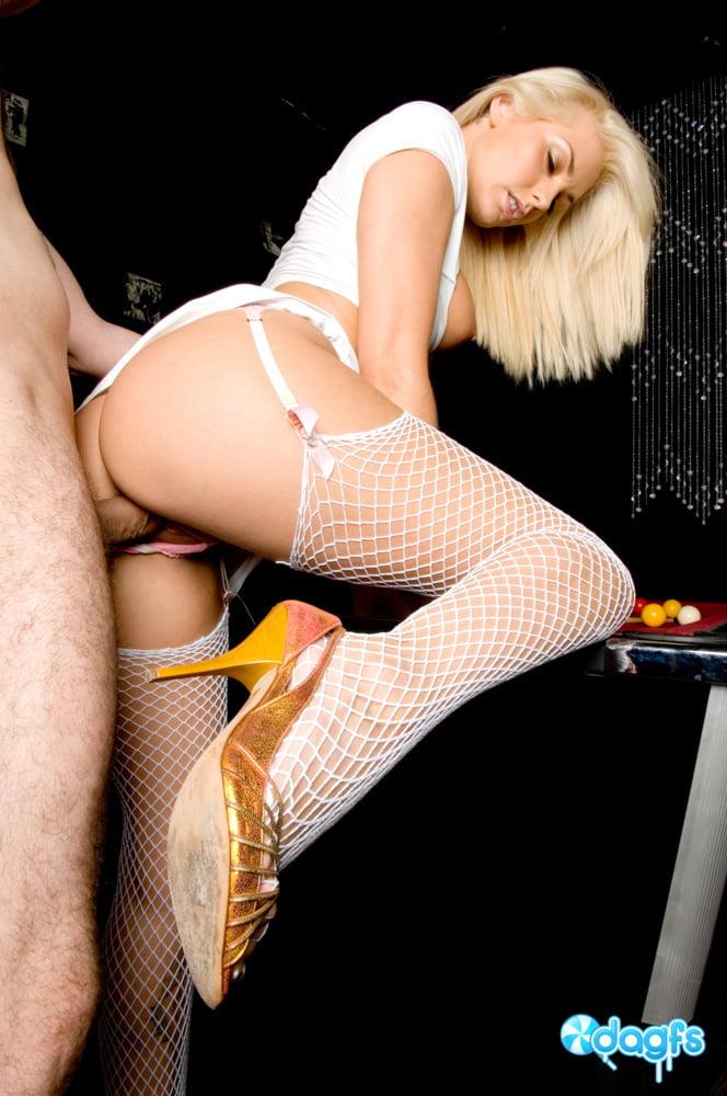 Busty Natasha Marley Sucks And Fucks On A Pool Table - 51 Pics