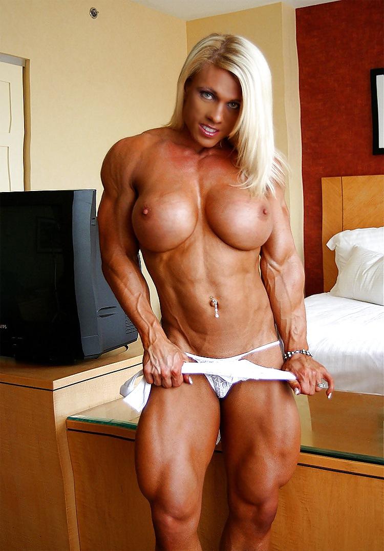 Tough Woman Naked Showing Good Body