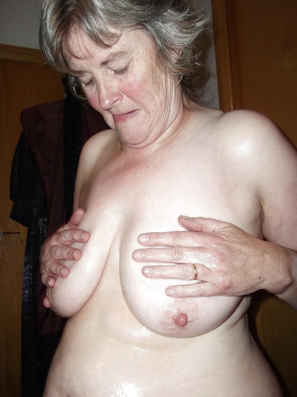 Small grannies with big boobs