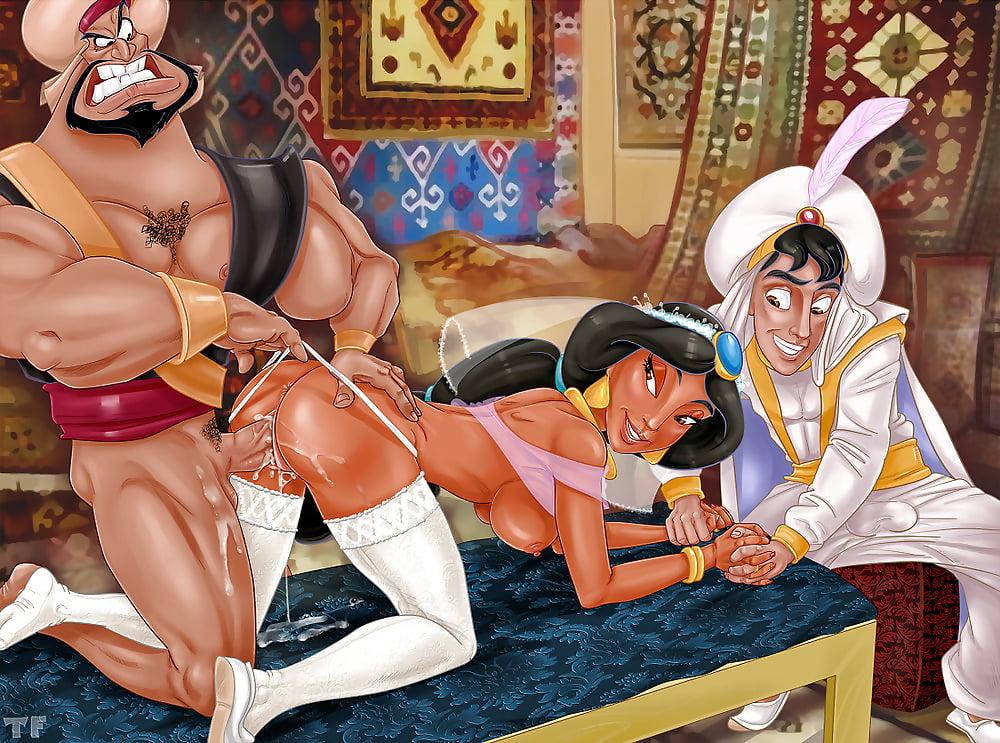 Порно герои уолта диснея #4