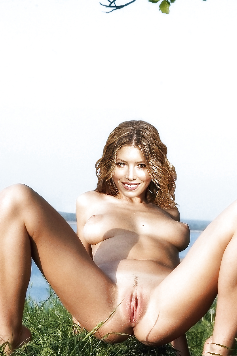 Sexy girl jessica biel spandex pussy young video