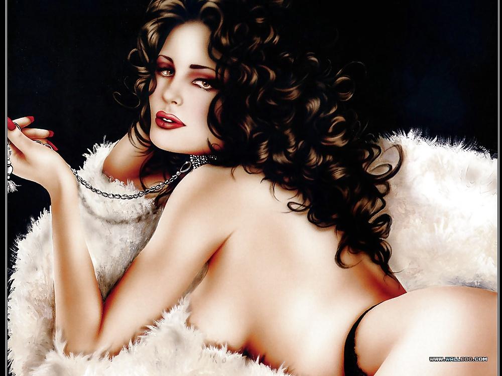 Sexy female celebrity nudes