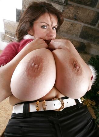 Huge boobs christmas