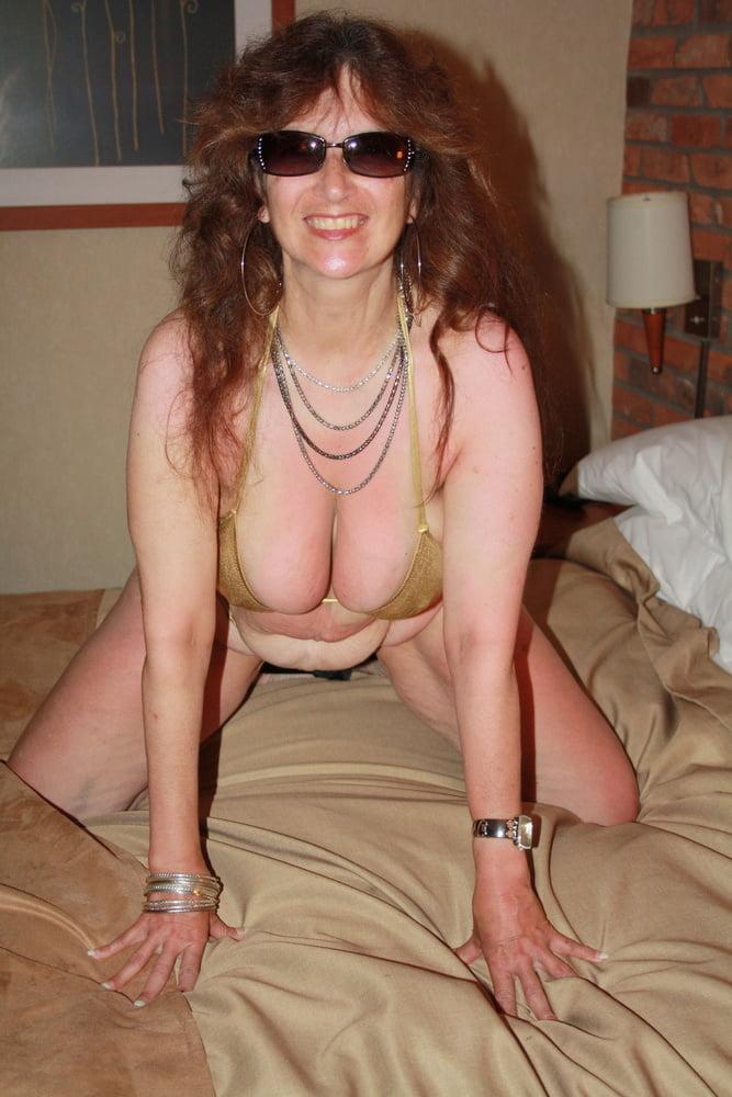 Mature women in skimpy bikinis-8438