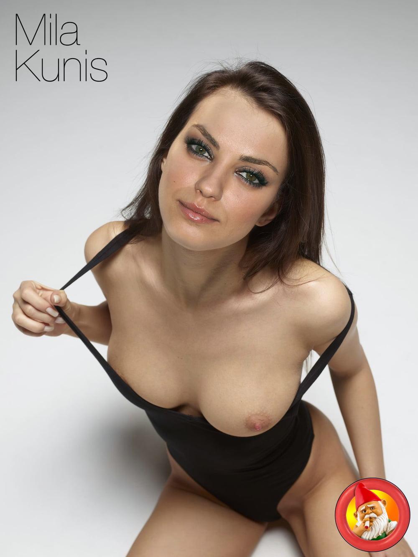Mila Kunis Topless