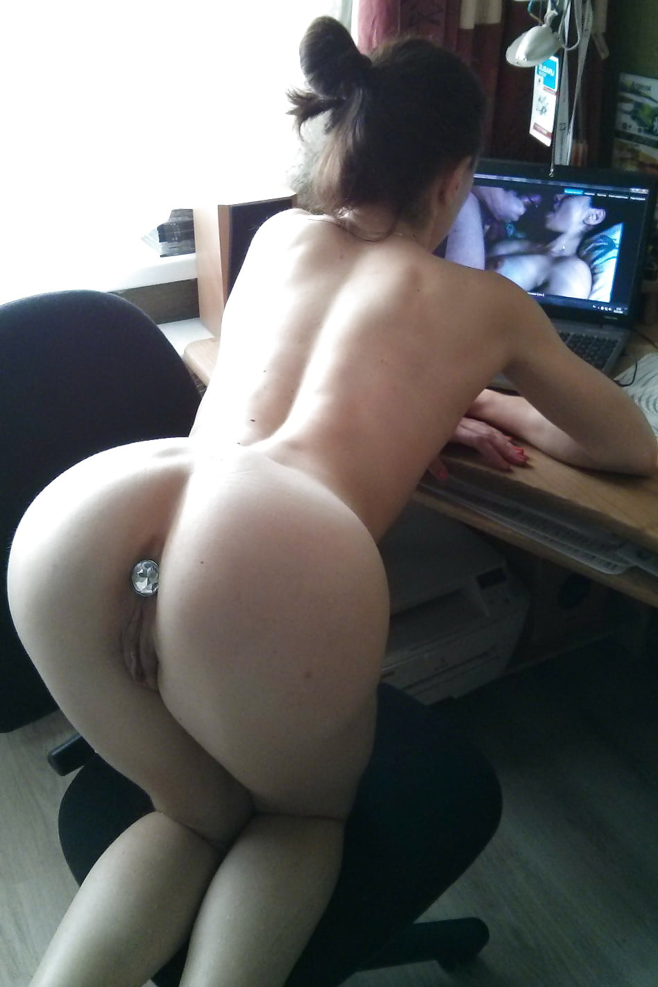 School girl watching porn-3777