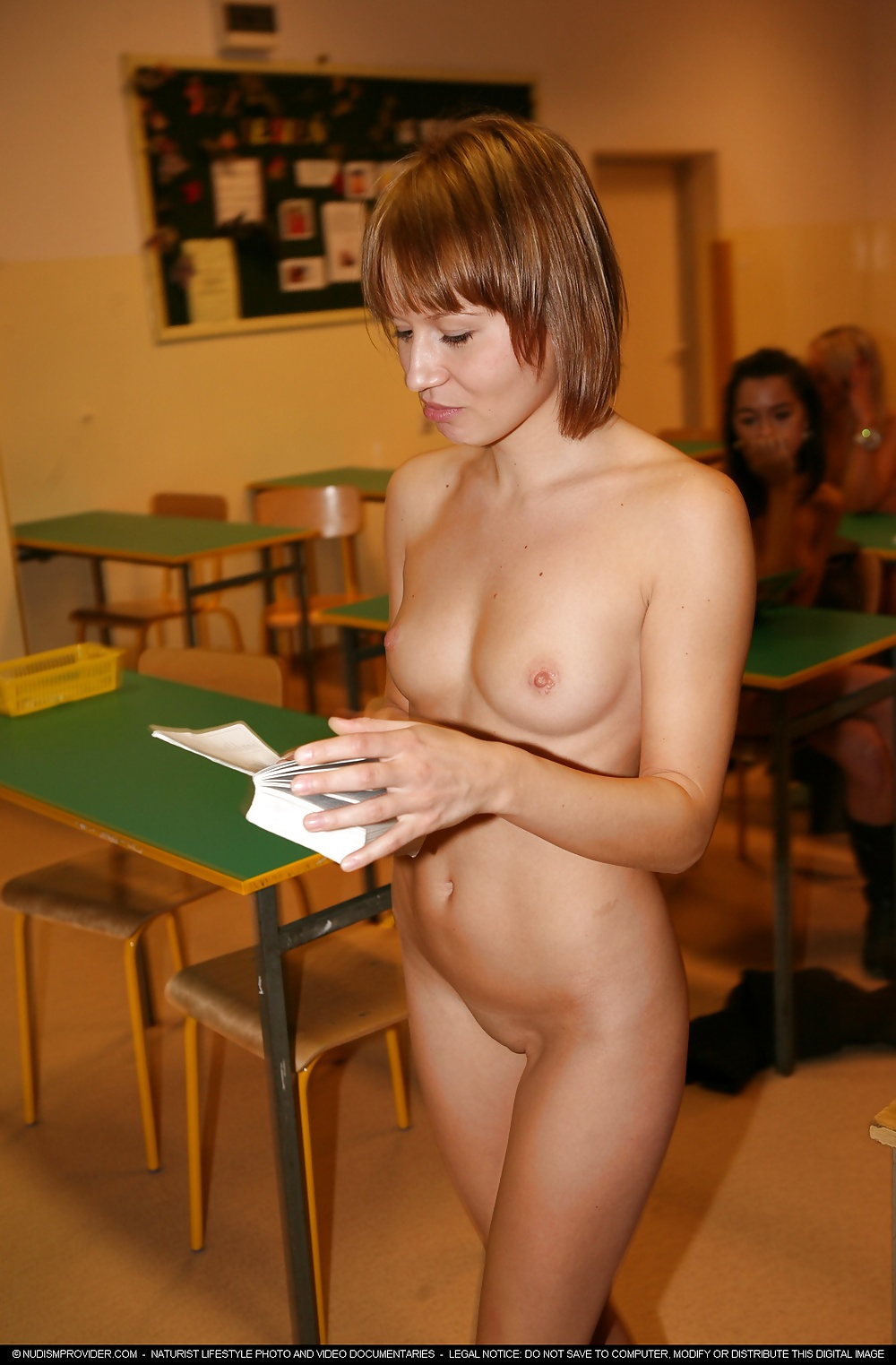Hot nud in school #10