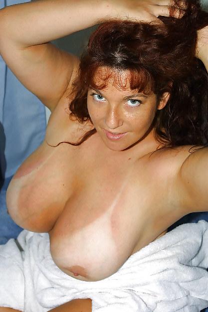 Hot big boobed brunette slut with nice-1039