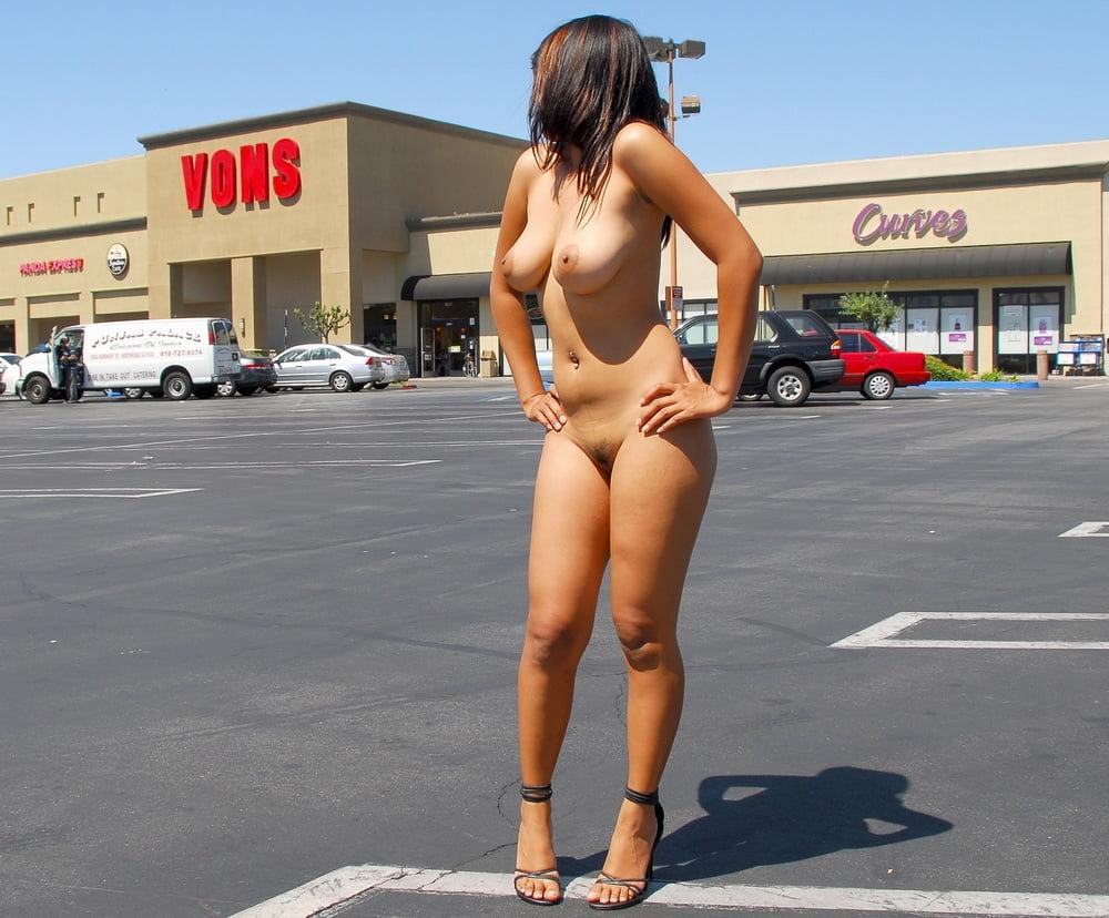 Girl dared to go naked booty naked freaks