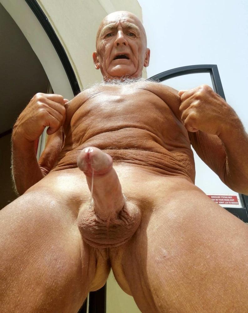 Grandpas hard cock