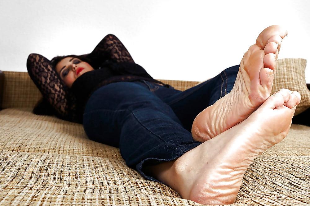 Women large feet sexuality, masturbation talking dirty