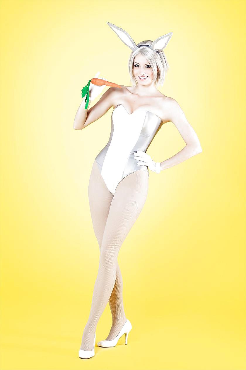 Anime sakurajima mai cosplay costume sexy bunny girl jumpsuit
