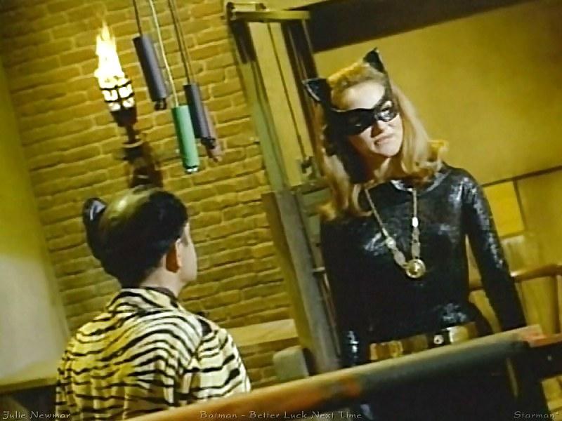 Julie newmar catwoman poster