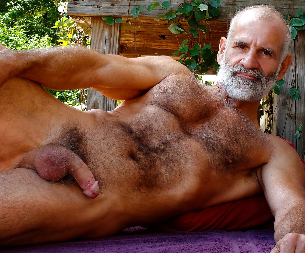 Mature naked hairy old gay men