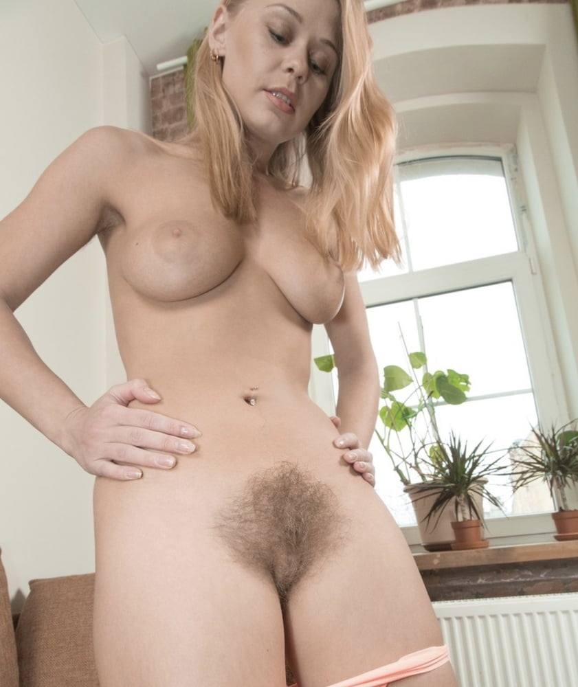 Watch Hot Blonde Teen With Hairy Pussy Masturbates Her Hairy Pussy Wit