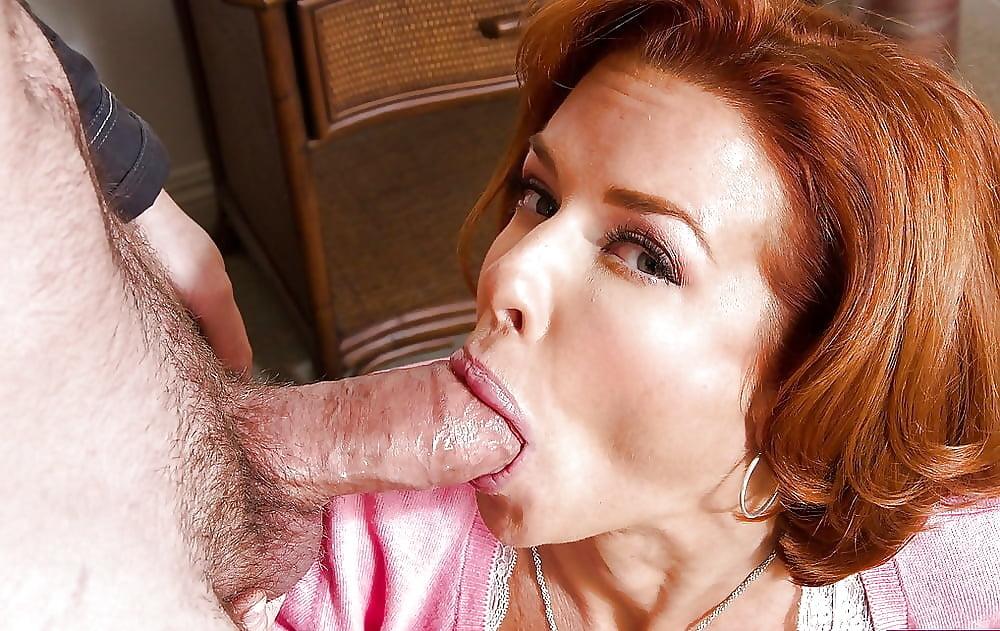 Lauren sexy redhead mom cums cumming