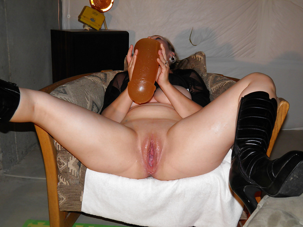 Домашний фистинг и секс с дилдо #15