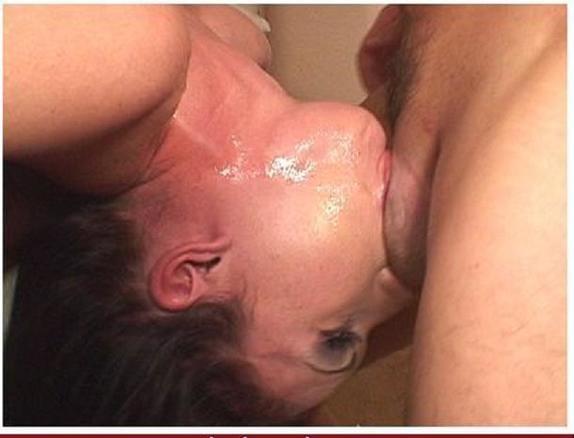 сперму жене в горло - 1