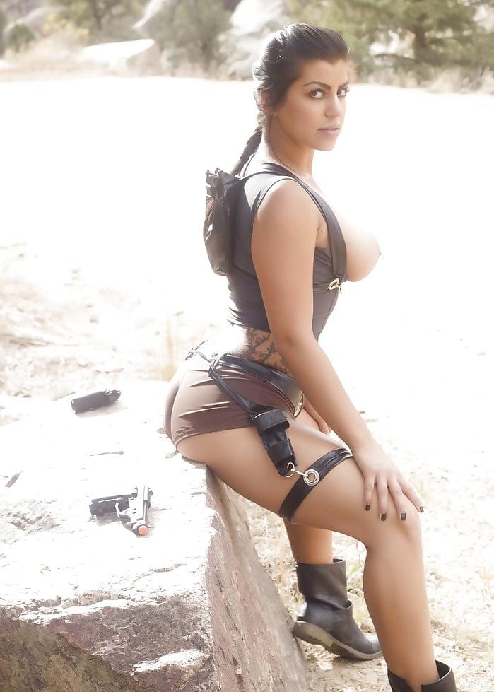 Briana Lee - Sexy Tomb Raider x