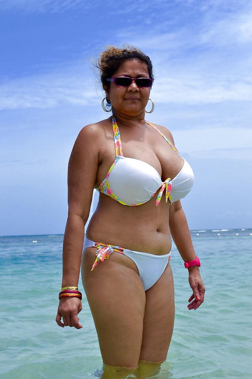 Black big mature white dominican