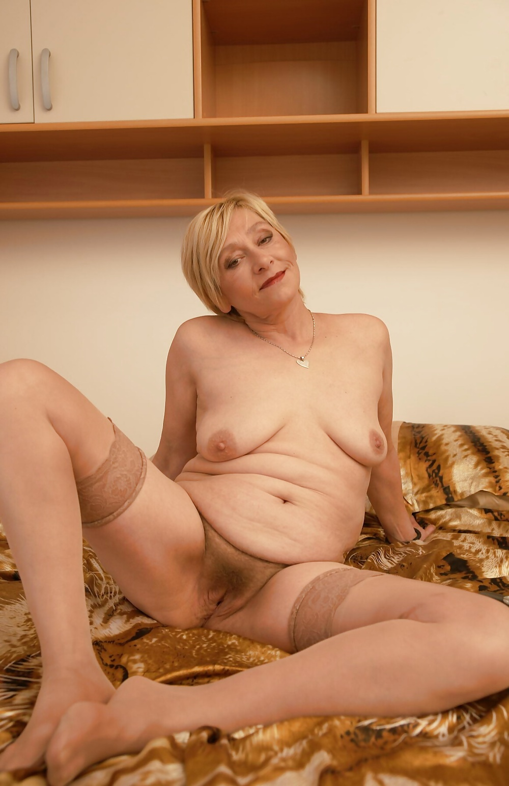 Mature age pussy clothing and