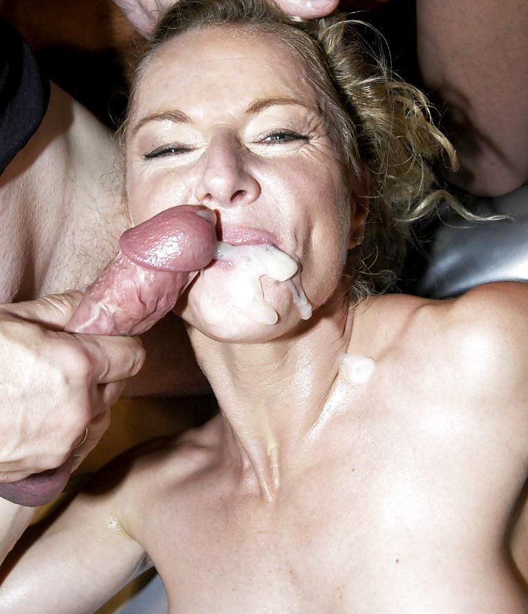 Cum On Moms Face