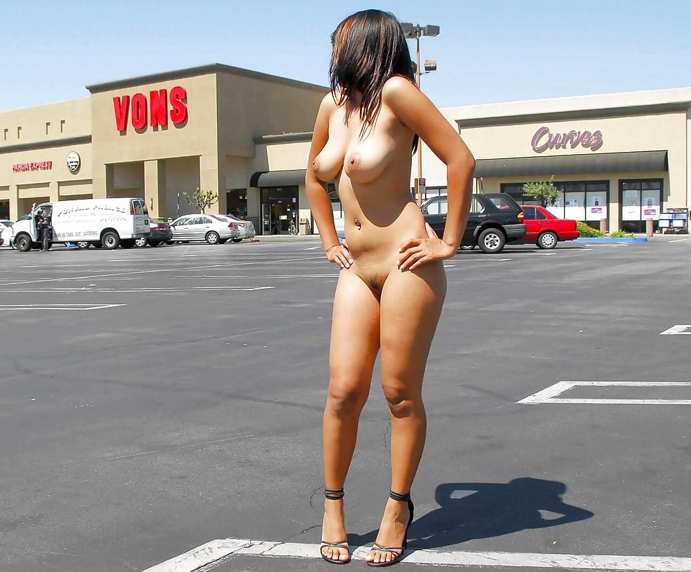 Naked parking lot
