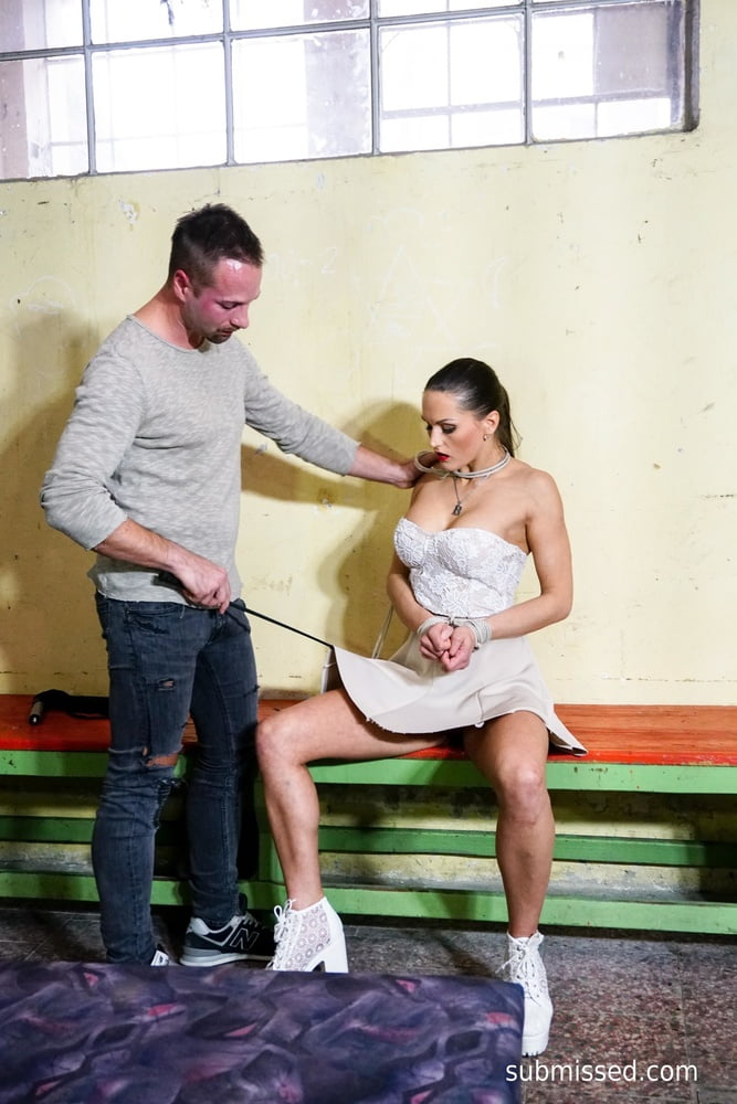 Obeying her master at Submissed - 16 Pics