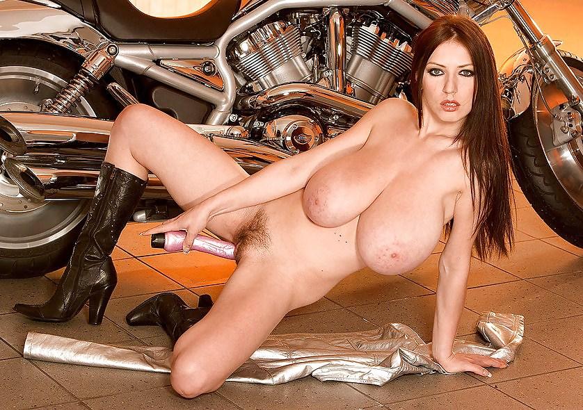 Big tit bikers nude
