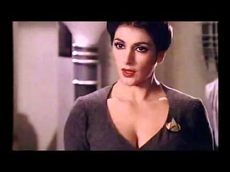 Marina sirtis aka counselor deanna troi - 1 part 2