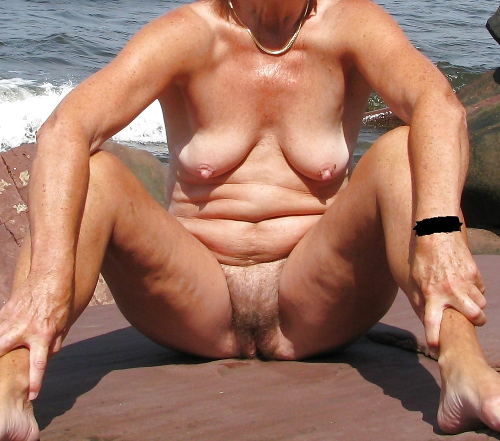 Granny with muscles