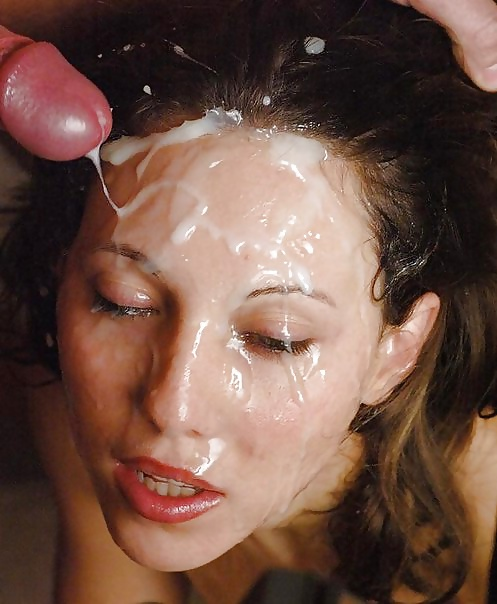 Beautiful Face Cum