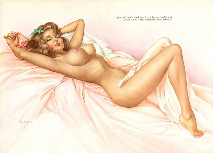 Sexy nude pinup girls