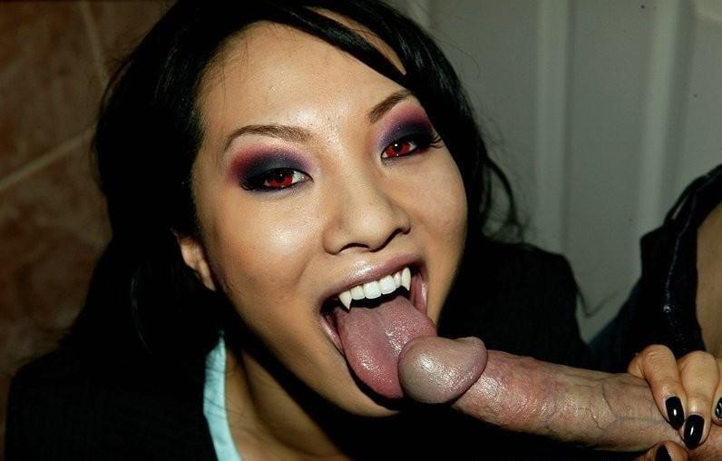 Vampire biting fetish throat pics