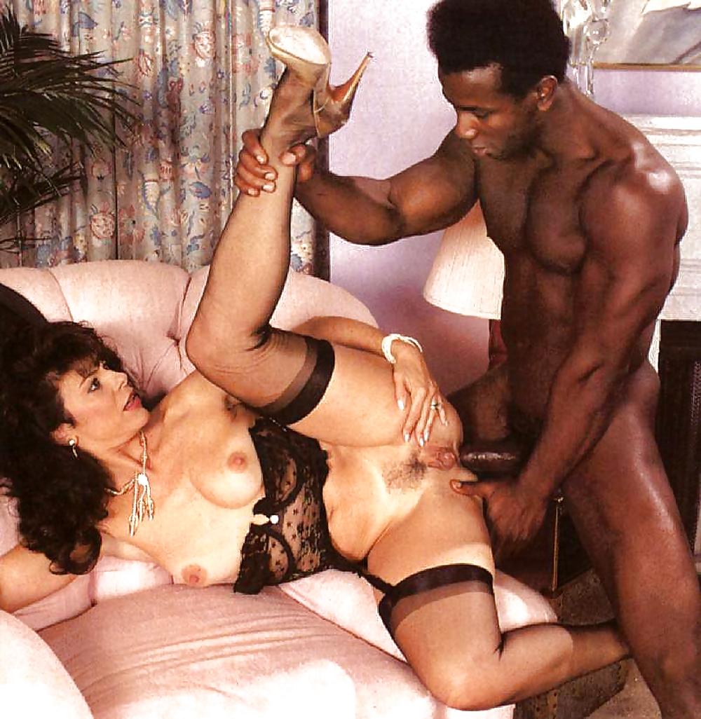 Interracial retro porn #8