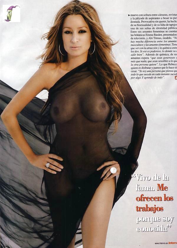 Rebecca loos nude — img 3