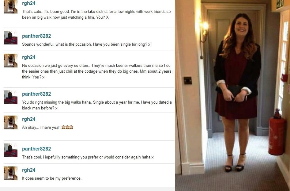 White women looking for black men dating site