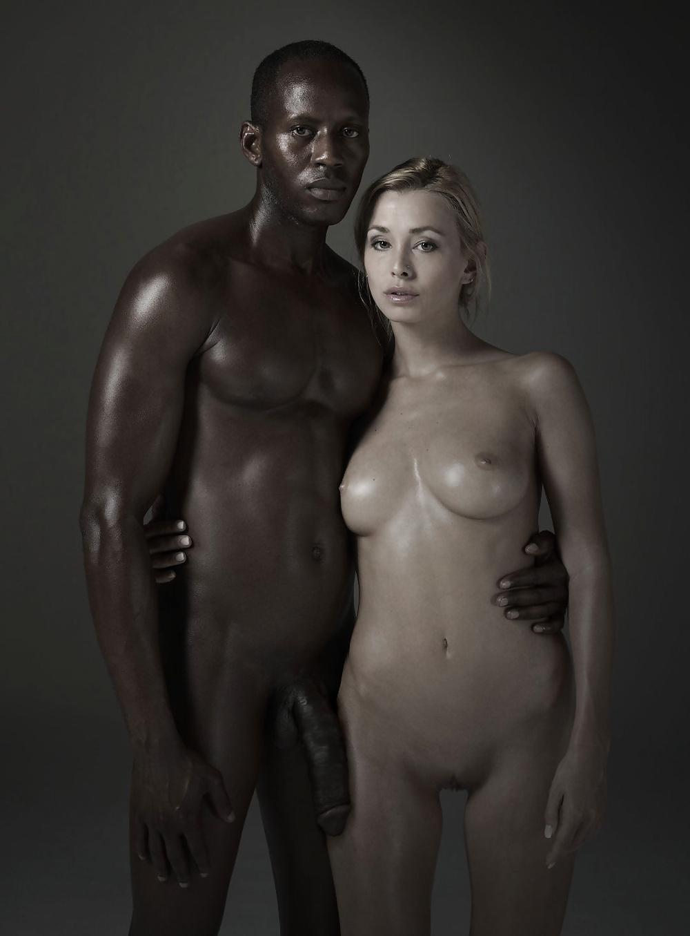 Black man and girl nude scene — photo 7