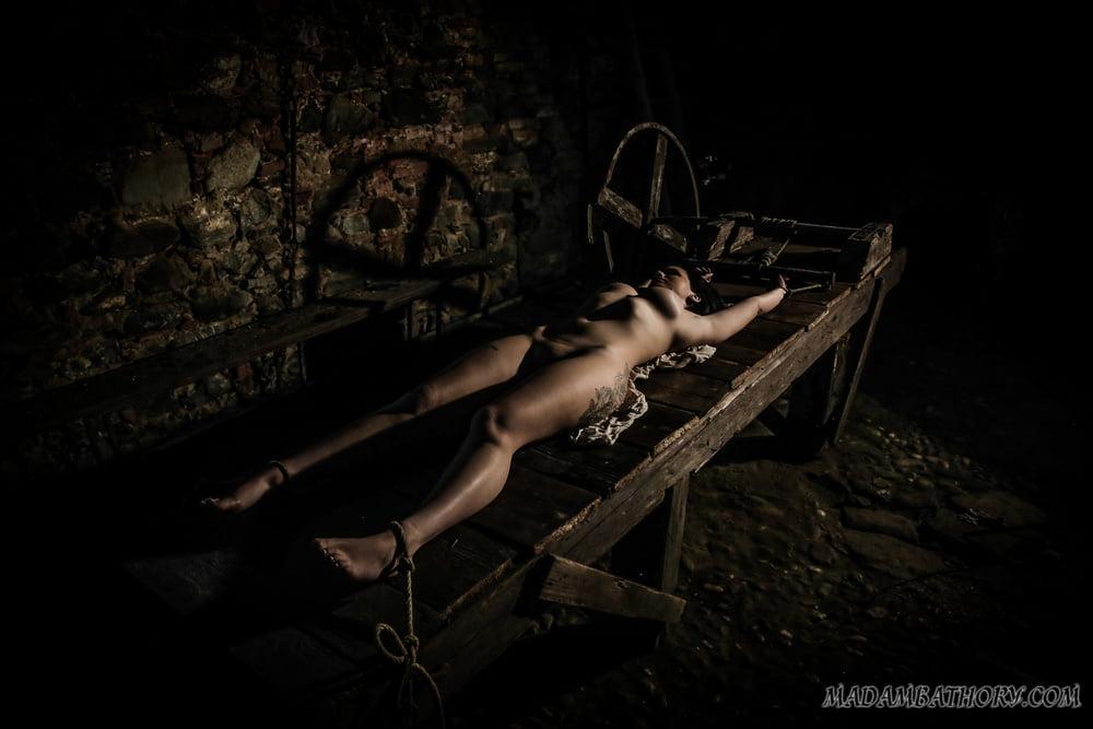 Bdsm on the torture-rack